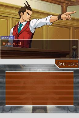 Ace Attorney - Apollo Justice Screenshot