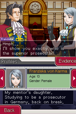 Ace Attorney Investigations - Miles Edgeworth Screenshot