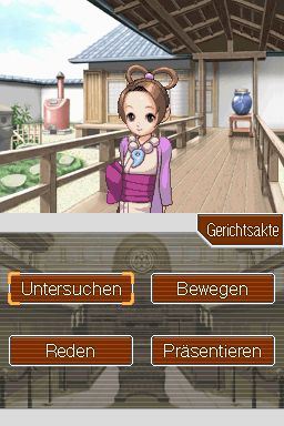Ace Attorney - Justice for All Screenshot