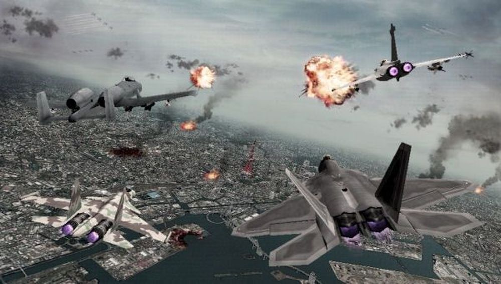 Ace Combat - Joint Assault Screenshot