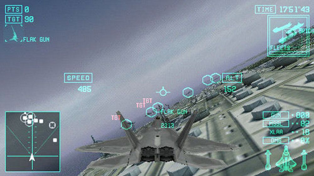 Ace Combat X - Skies of Deception Screenshot