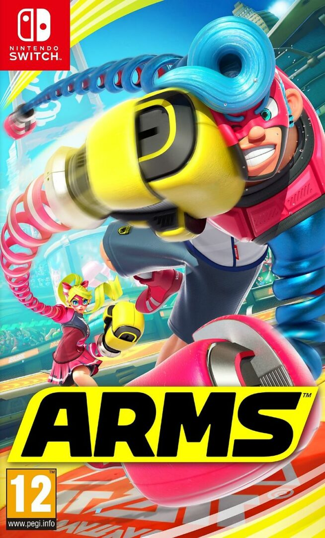 Arms Screenshot Nintendo Switch Cover