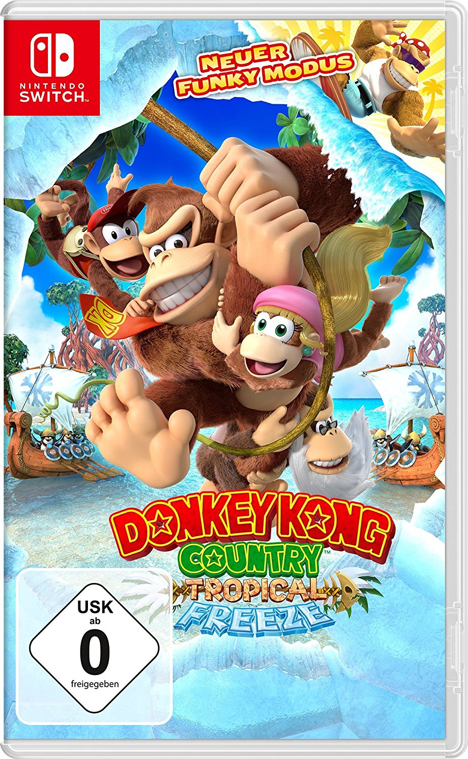 Donkey Kong Country - Tropical Freeze Nintendo Switch Cover