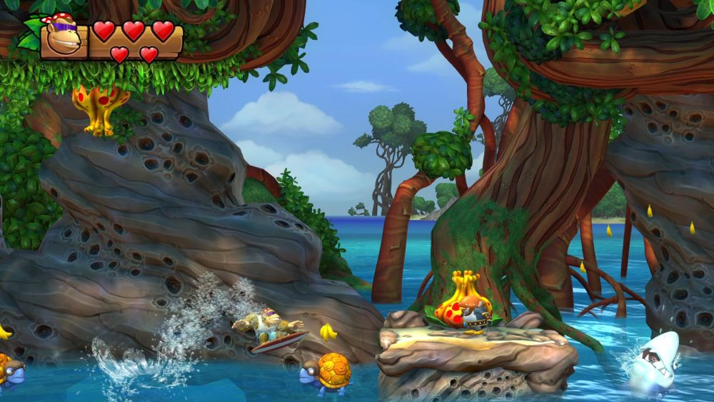 Donkey Kong Country - Tropical Freeze Nintendo Switch Screenshot0