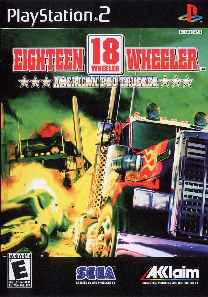 Eighteen Wheeler - American pro Trucker Cover