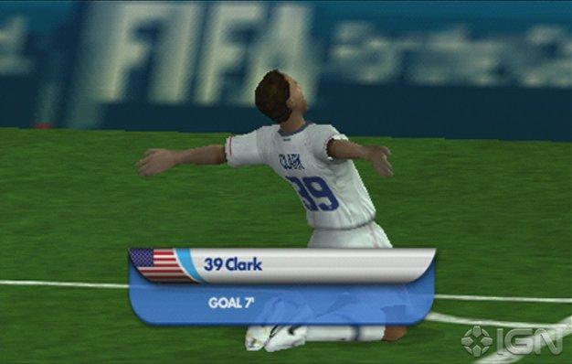 FIFA Fussball-Weltmeisterschaft PSP Screenshot2
