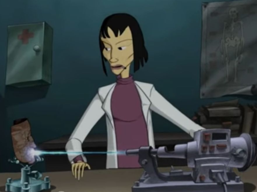 Frau Dr. Olivaw