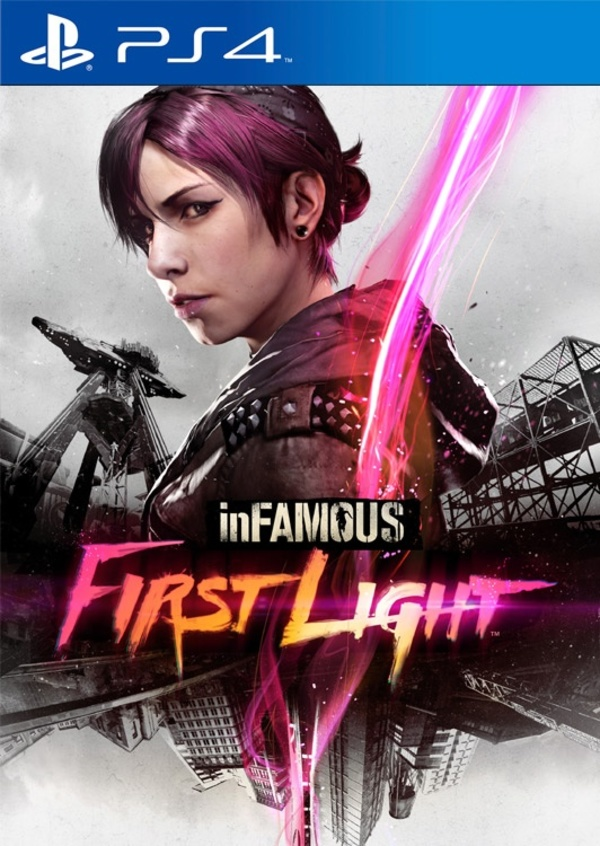Infamous First Light Playstation 4 Cover