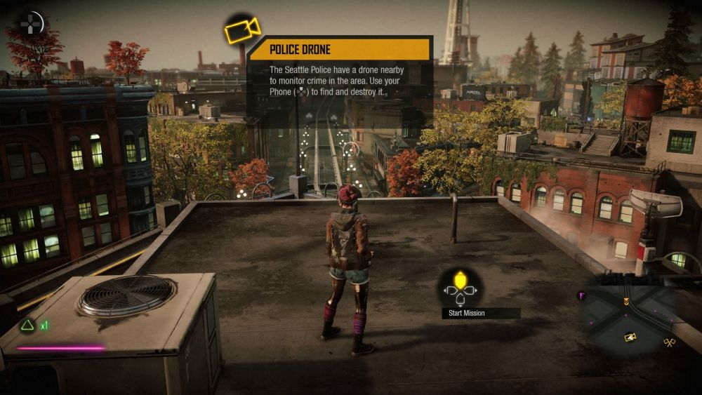Infamous First Light Playstation 4 Screenshot