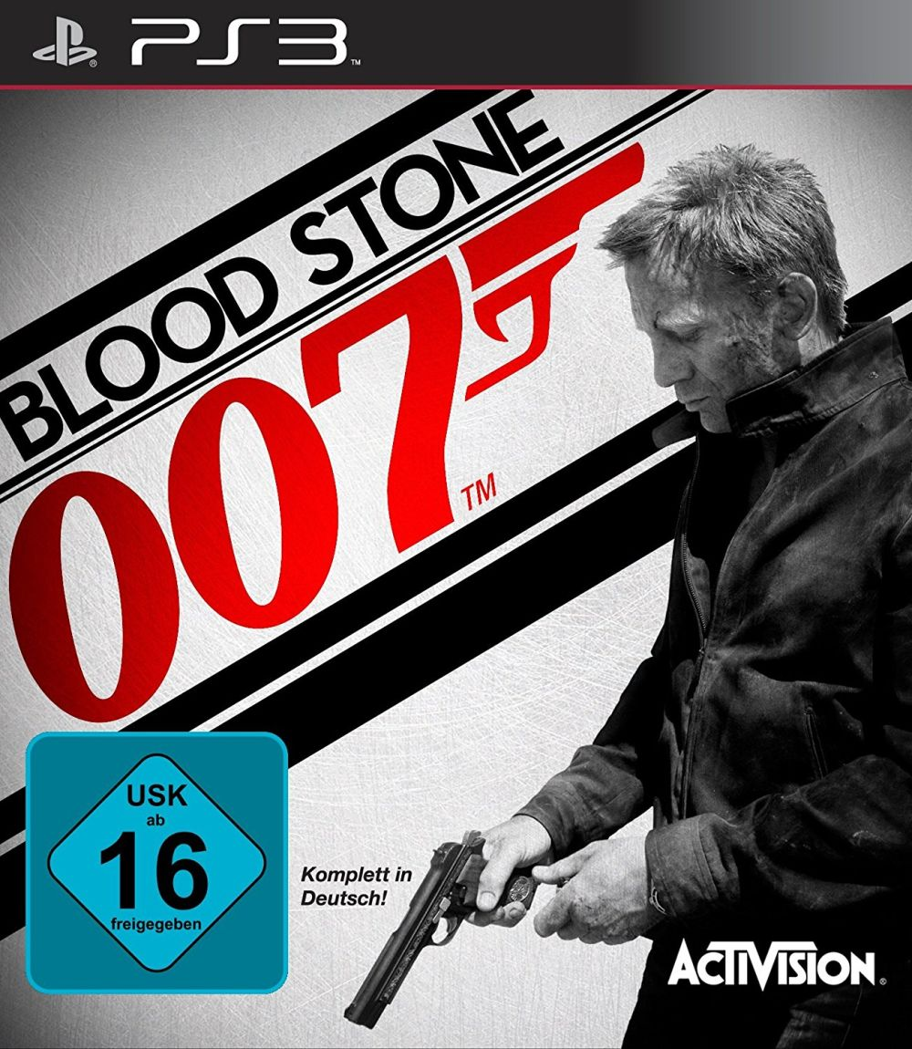 James Bond - 007 - Blood Stone Cover