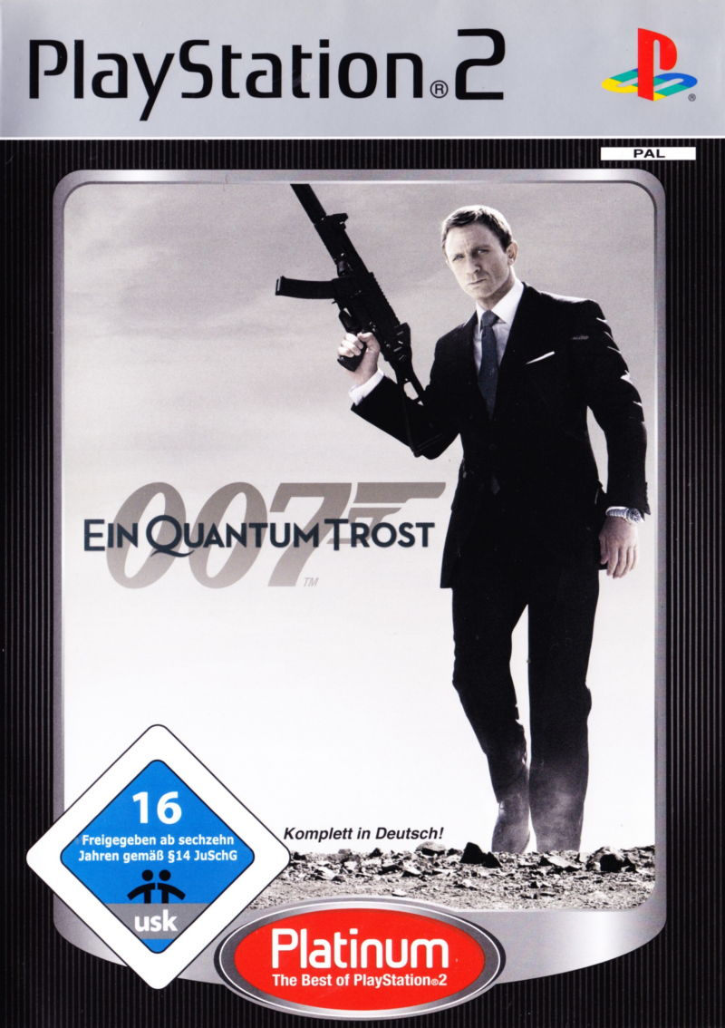 James Bond - 007 - Ein Quantum Trost - Cover