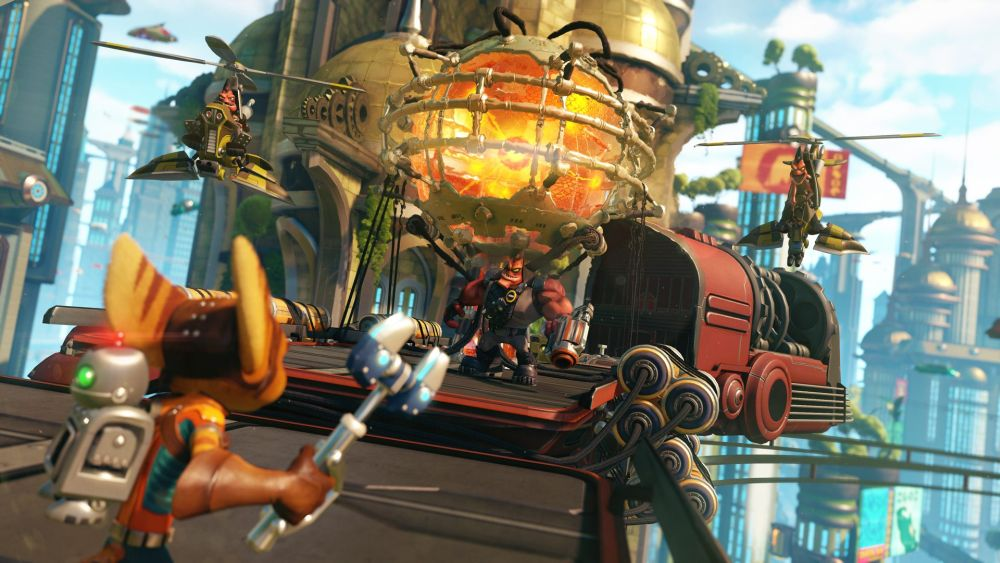 Ratchet & Clank PS4 Screenshot1