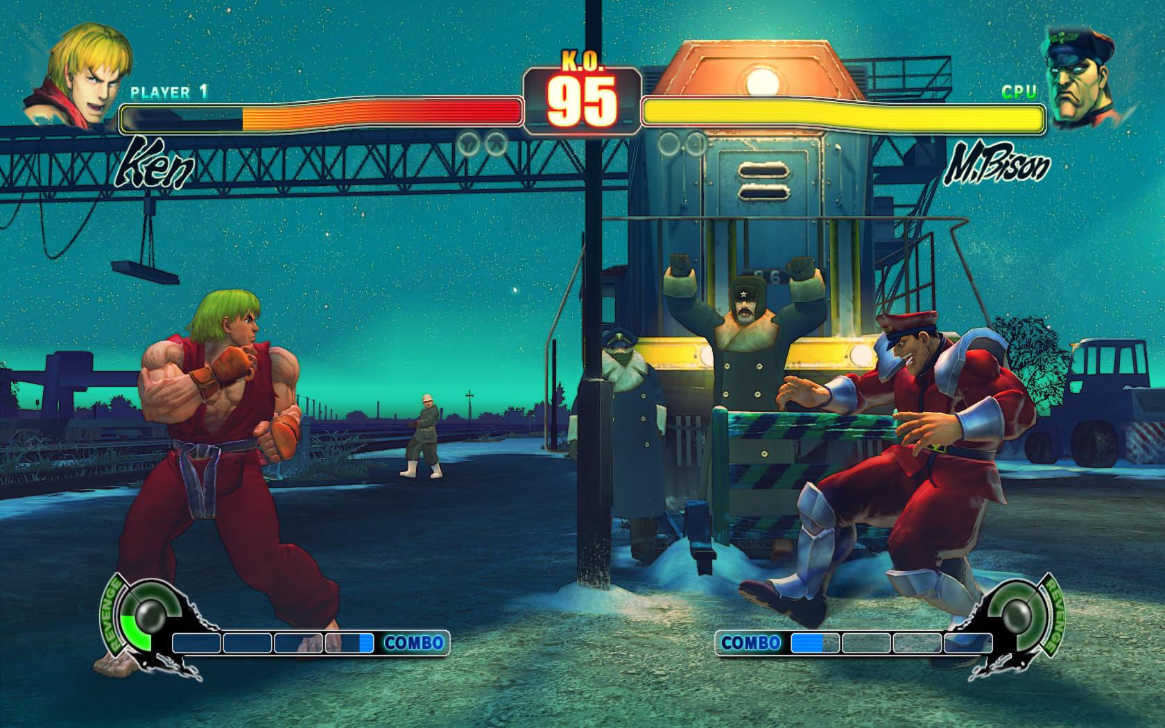 Streeet Fighter 4 Screenshot