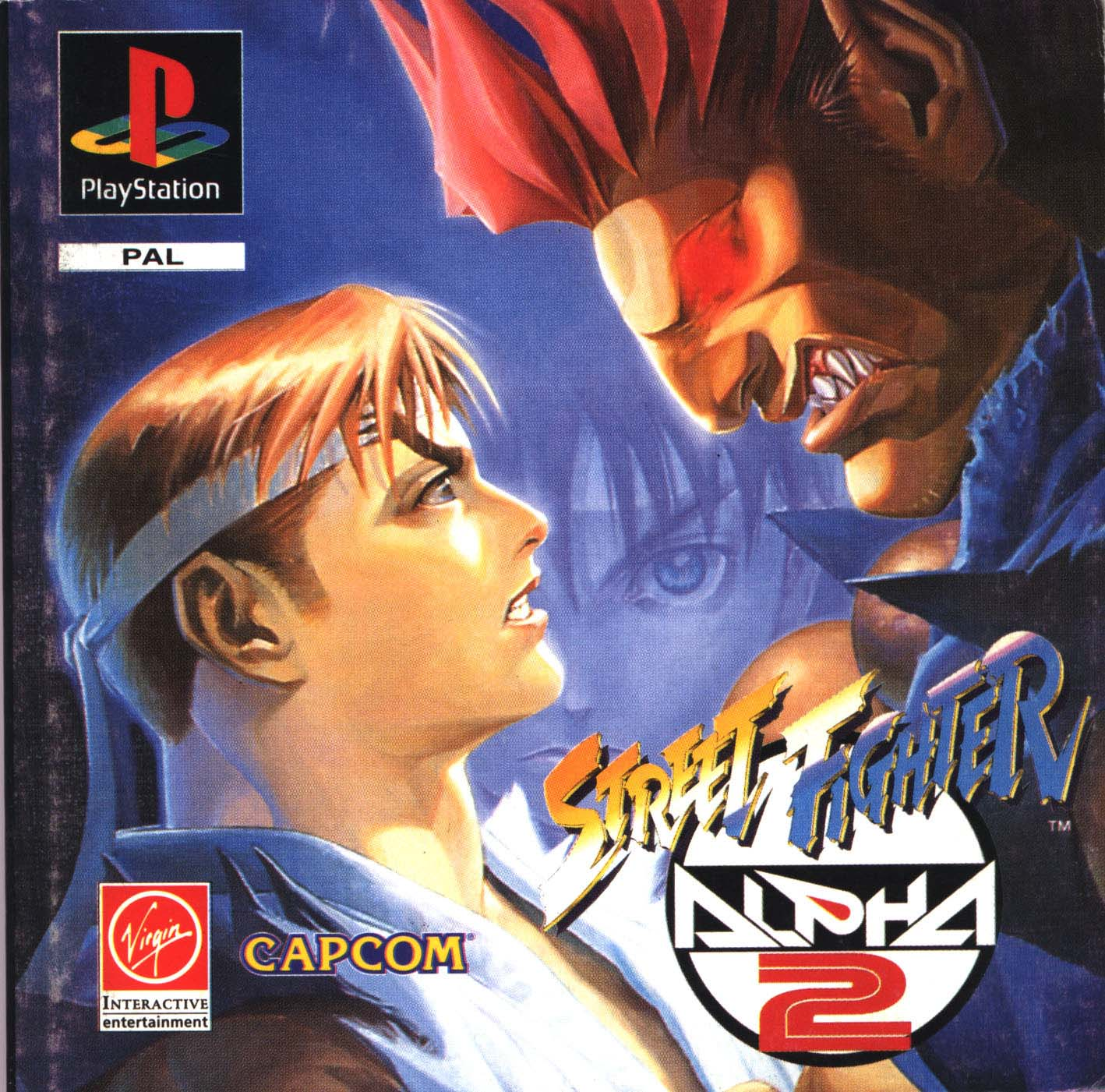 Street Fighter Alpha 2 Cover