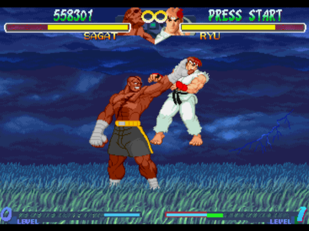 Street Fighter Alpha 2 Screenshot2