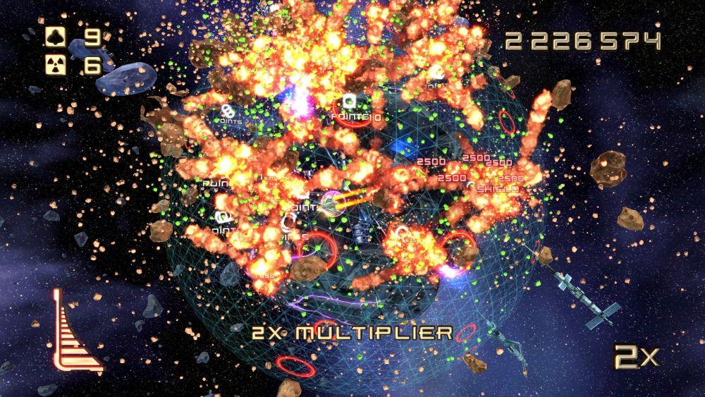 Super Stardust Ultra Screenshot