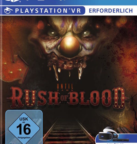 Until Dawn - Rush of Blood - Cover