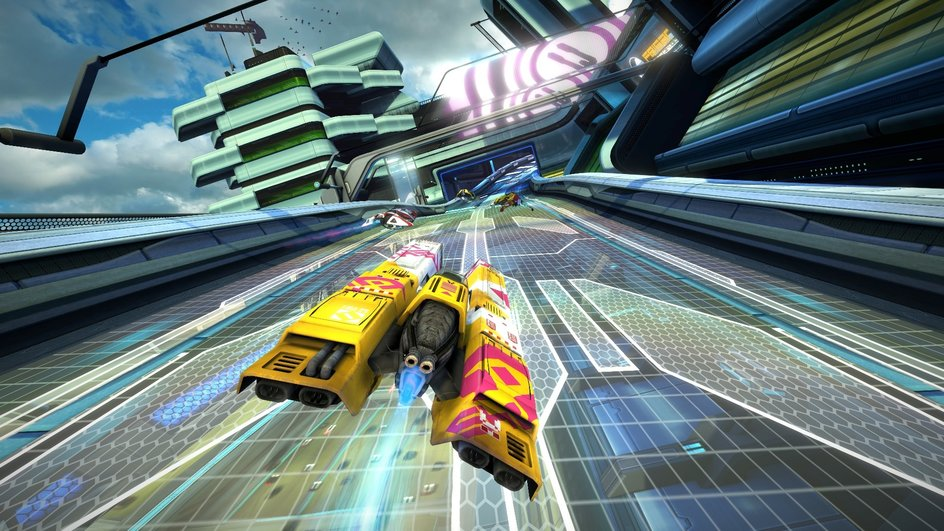 WipEout Omega Collection PSVR Screenshot2