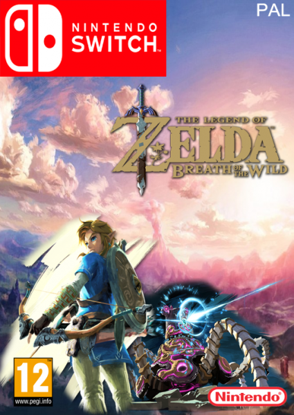 Zelda - Breath of the Wild Cover