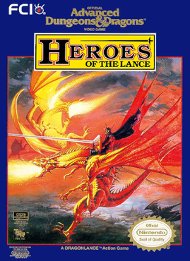 Advanced Dungeons & Dragons - Heroes of the Lance2