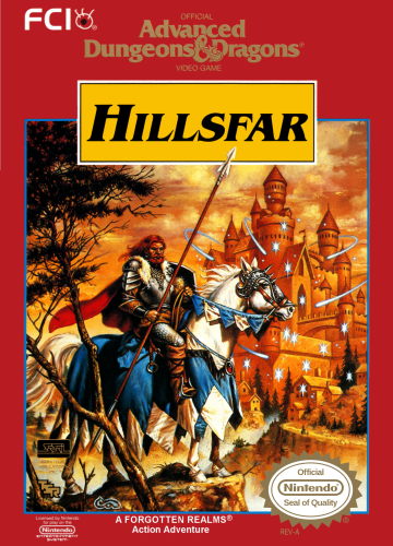 Advanced Dungeons & Dragons Hillsfar Cover