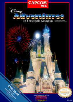 Adventures in the Magic Kingdom - Cover