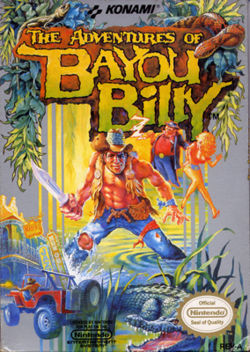 The Adventures of Bayou Billy Cover