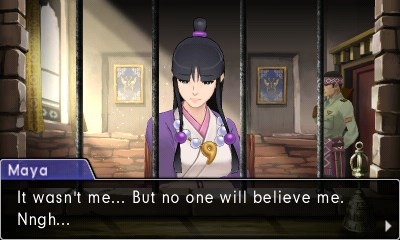 Ace Attorney Spirit of Justice Screenshot
