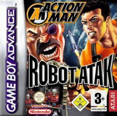 Action Man Robot Attack Cover