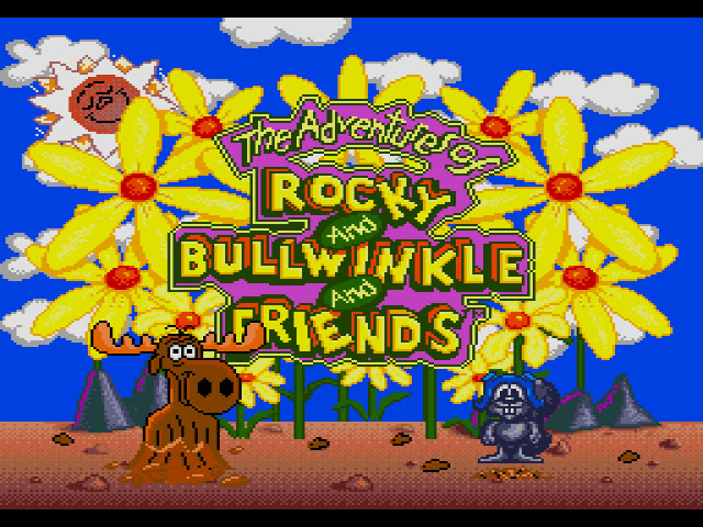 Adventures of Rocky and Bullwinkle and Friends - Screenshot