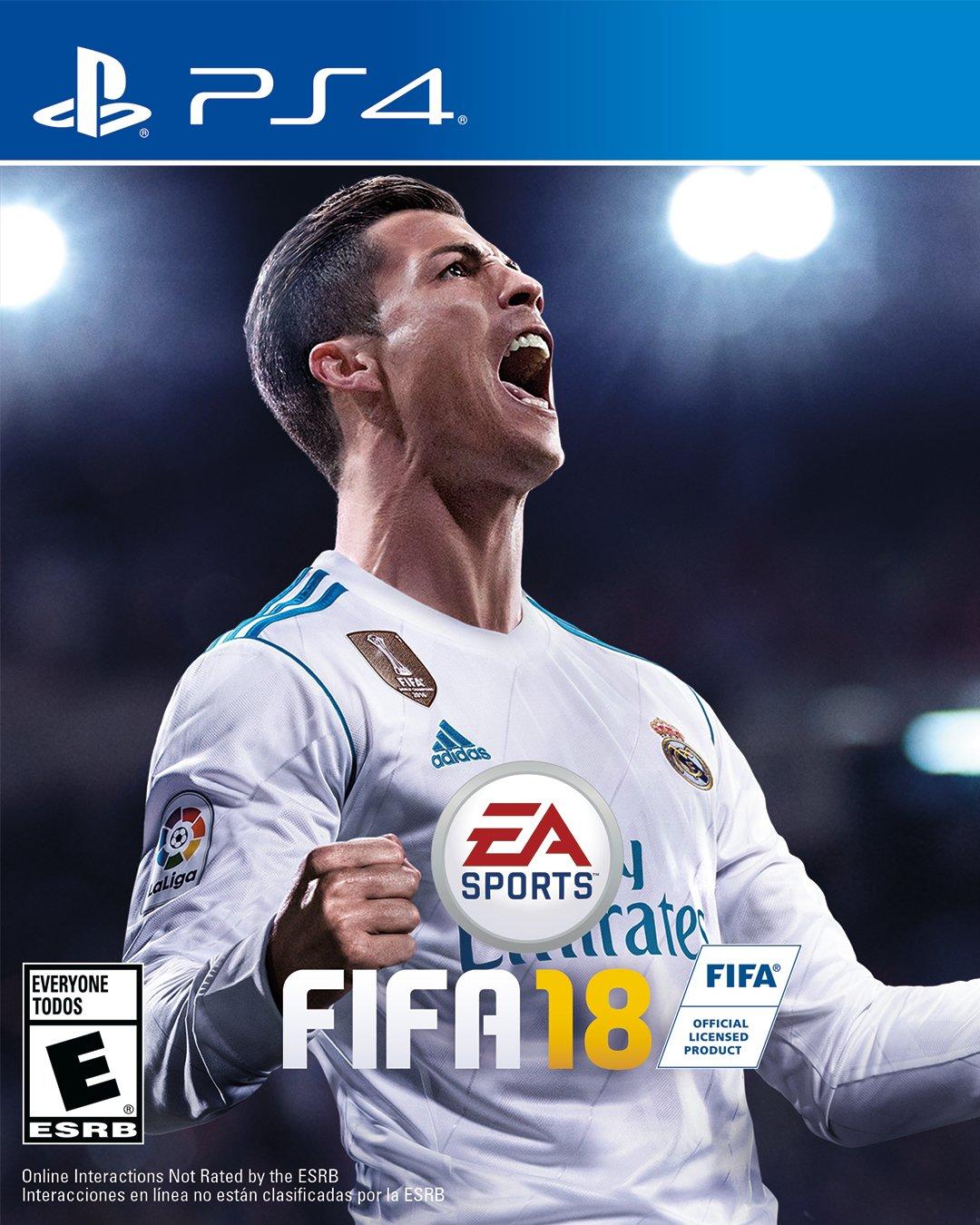 FIFA18 Cover