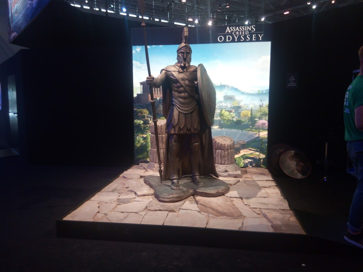 Gamescom 2018 Assassins Creed Odyssee