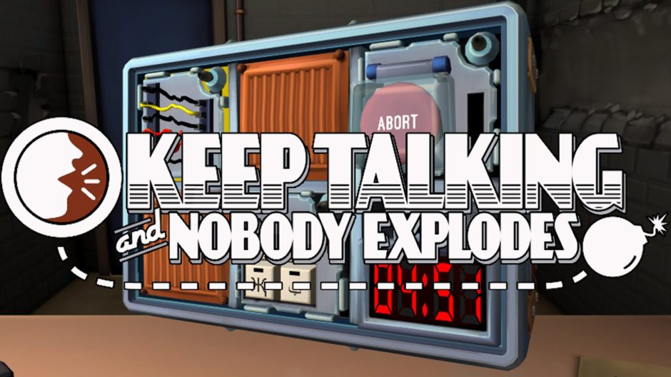 Keep Talking and nobody explodes Cover