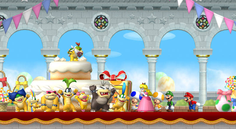 New Super Mario Bros Wii Screenshot