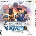 Professor Layton vs. Phoenix Wright Ace Attorney Cover