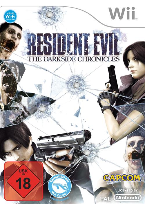Resident Evil - The Darkside Chronicles Cover