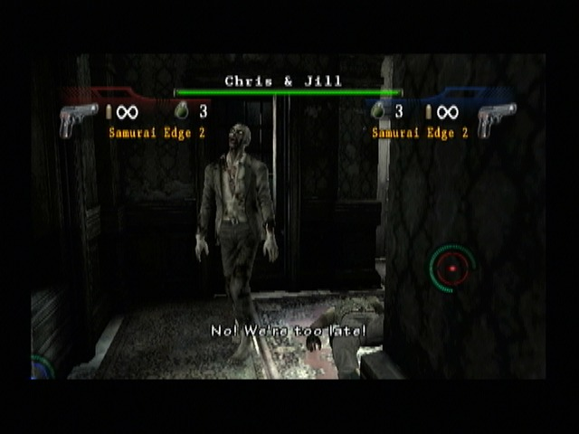 Resident Evil - The Umbrella Chronicles Screenshot