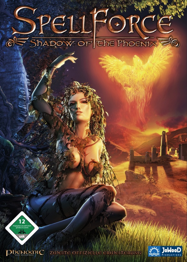 Spellforce Shadow of the Phoenix Cover
