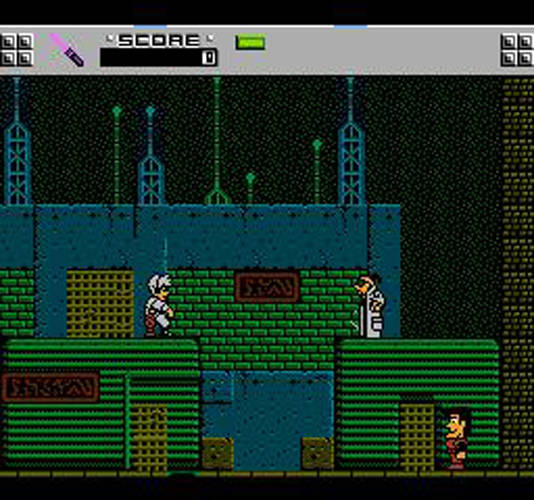 The Adventure of Rad Gravity NES Screenshot