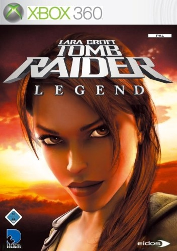 Tomb Raider Legend Cover