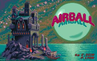 Airball Titlescreen