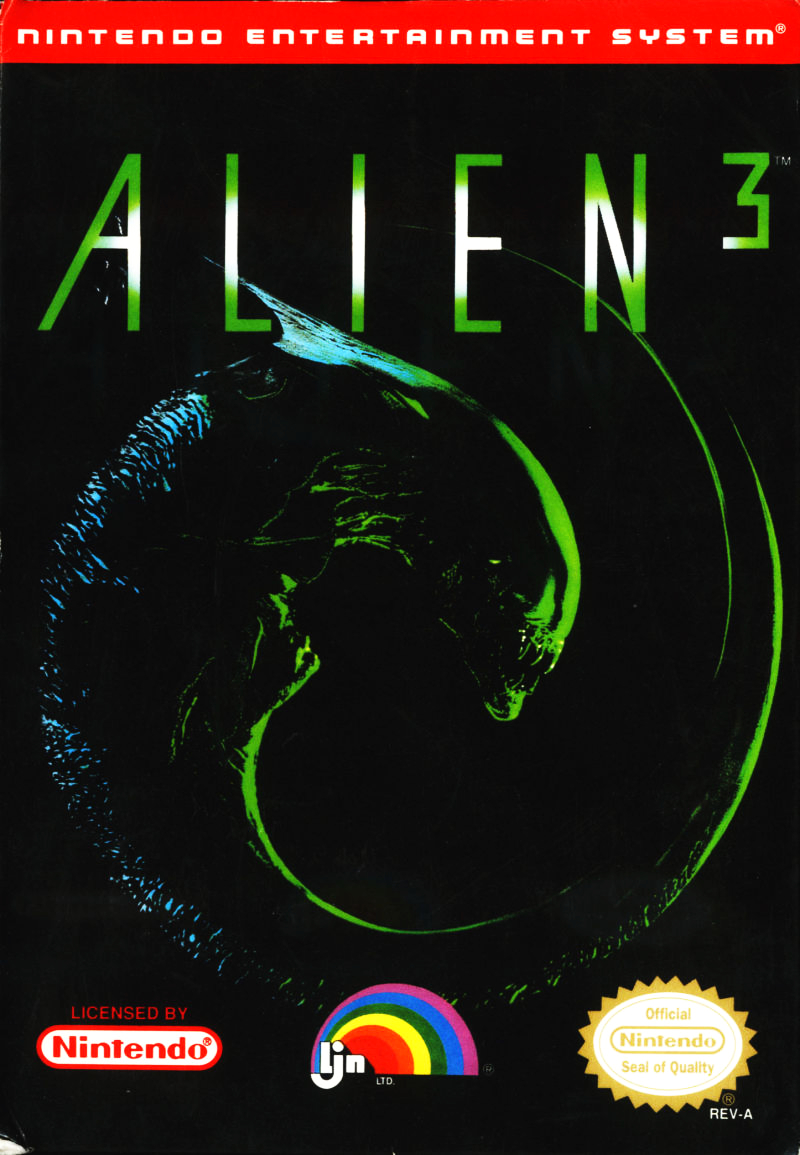 Alien3_NES Cover