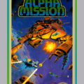 Alpha Mission NES Front Cover