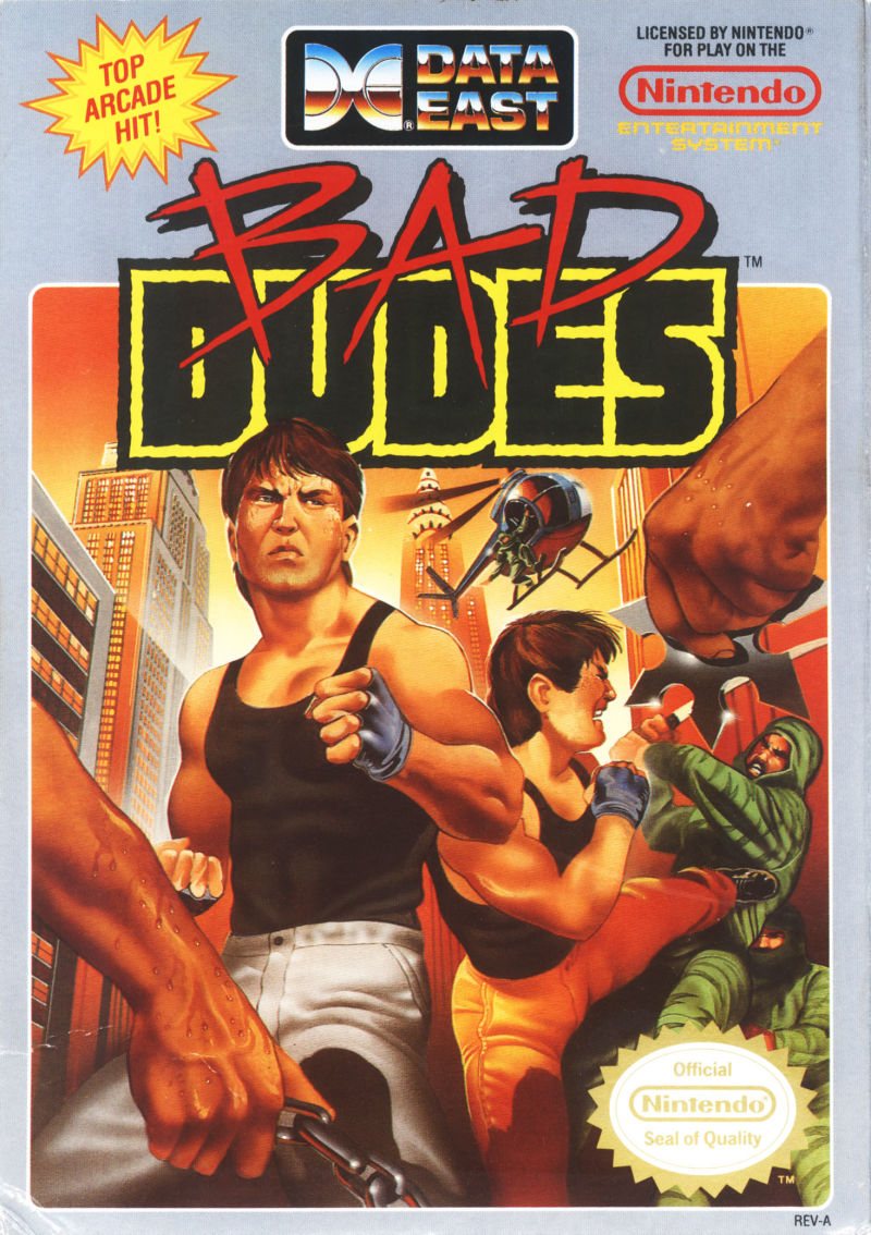 Bad Dudes Cover