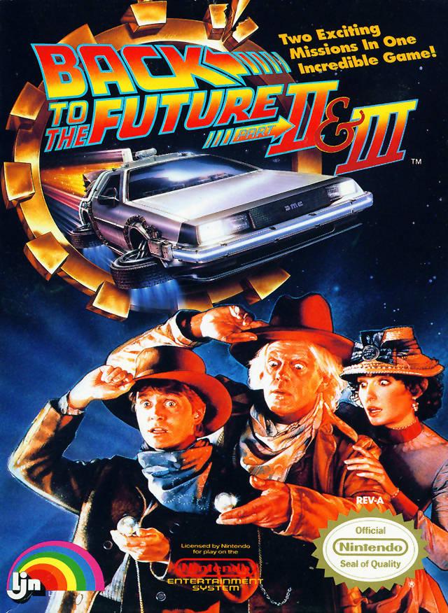 Zurück in die Zukunft II & III Cover