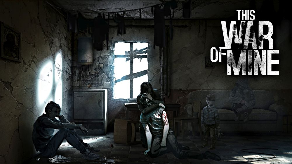 This War of Mine - civilians artwork