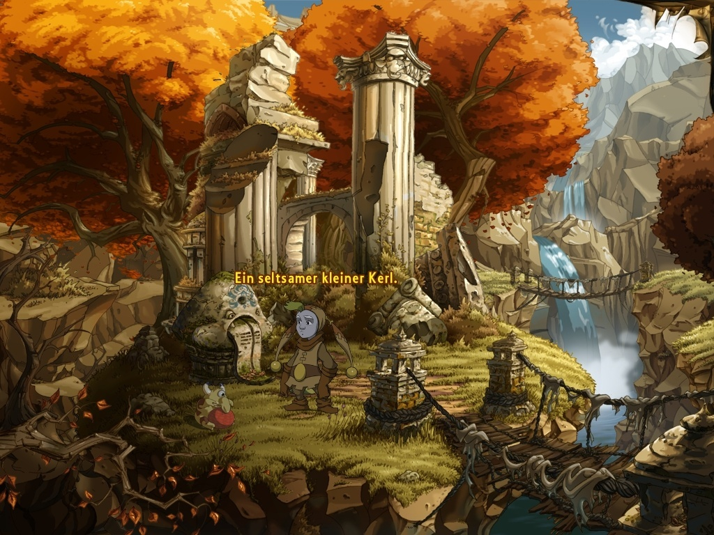 The Whispered World Screenshot