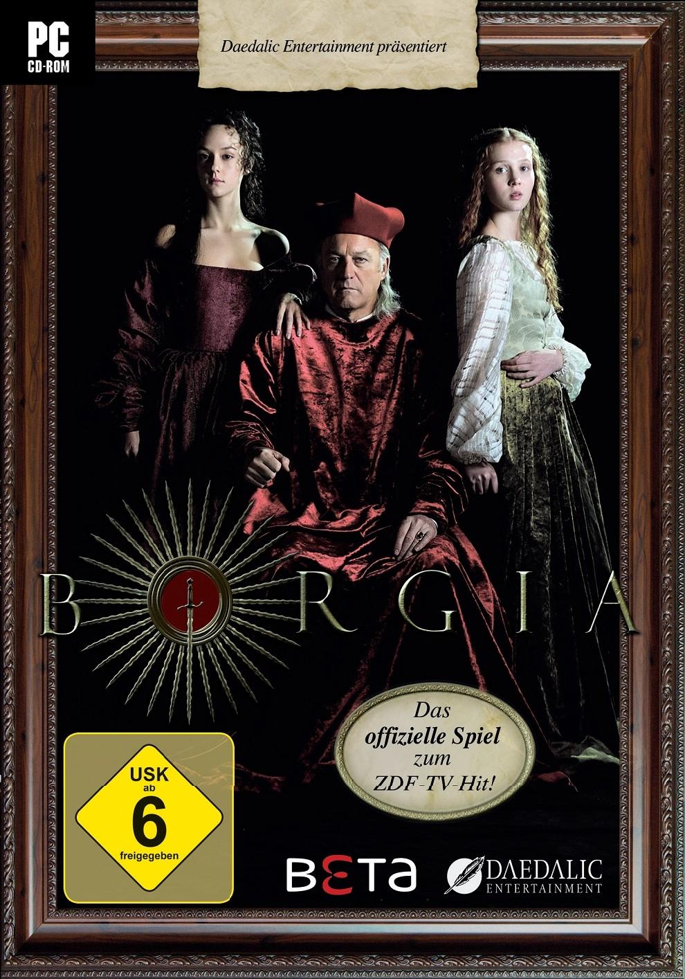 Borgia Cover