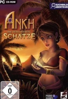 Ankh - Die verlorenen Schätze Cover