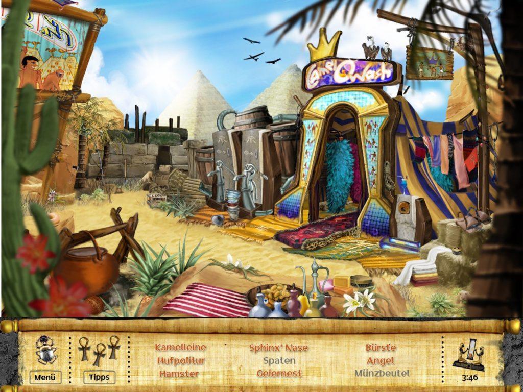 Ankh - Die verlorenen Schätze Screenshot